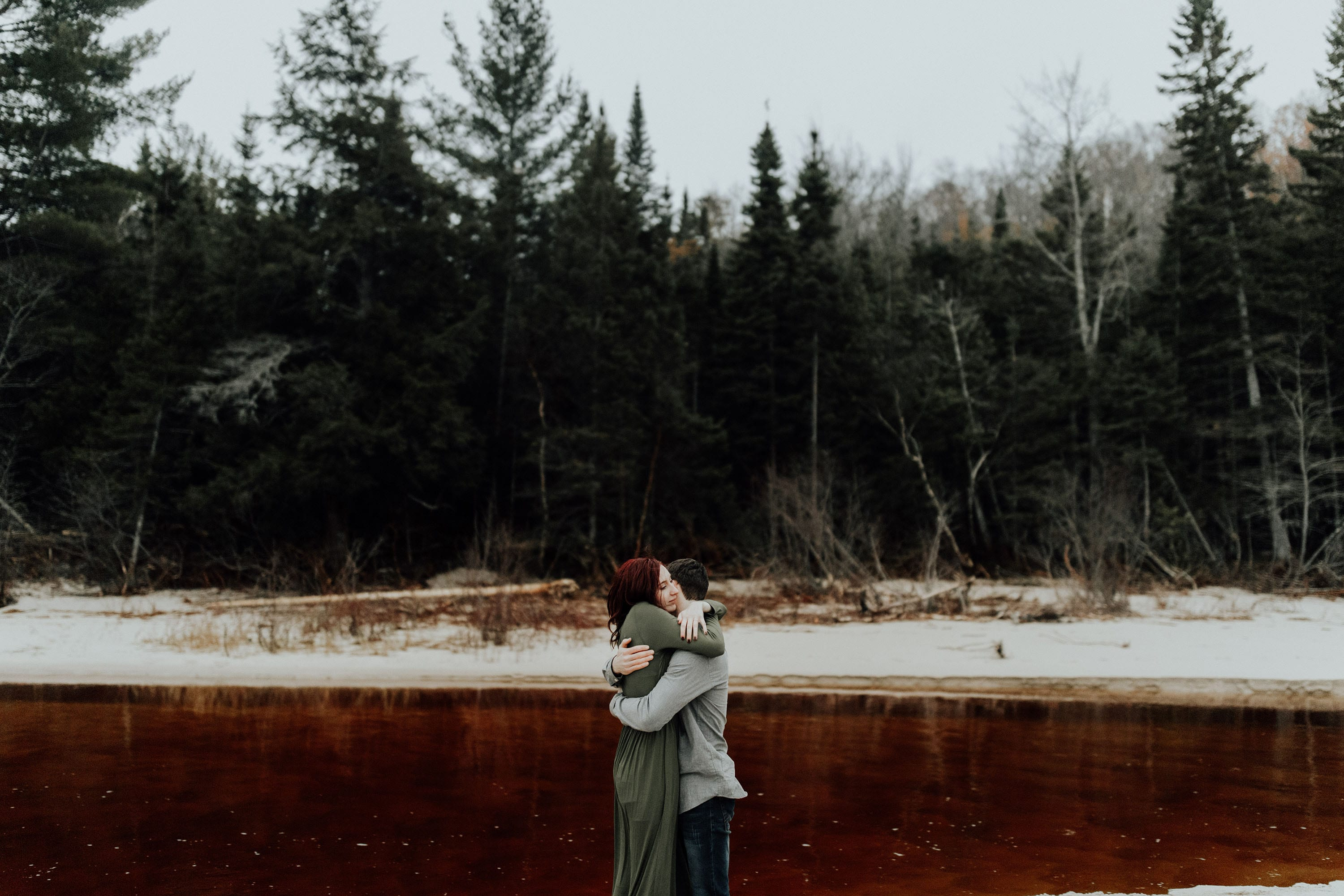 Northern Michigan, Engagement Session, Josh Rexford