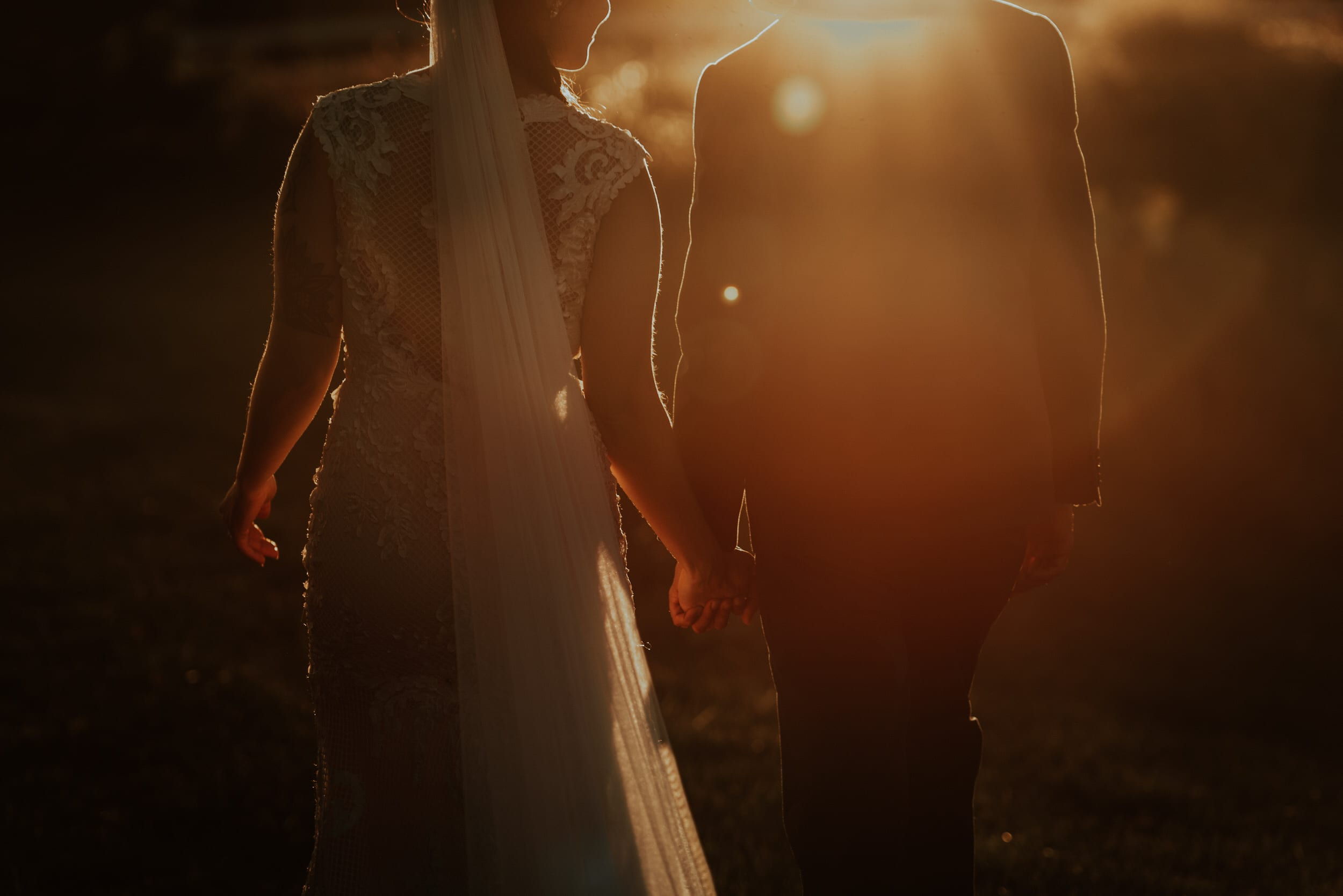 Moody, Romantic, Outdoor, Wedding, Josh Rexford