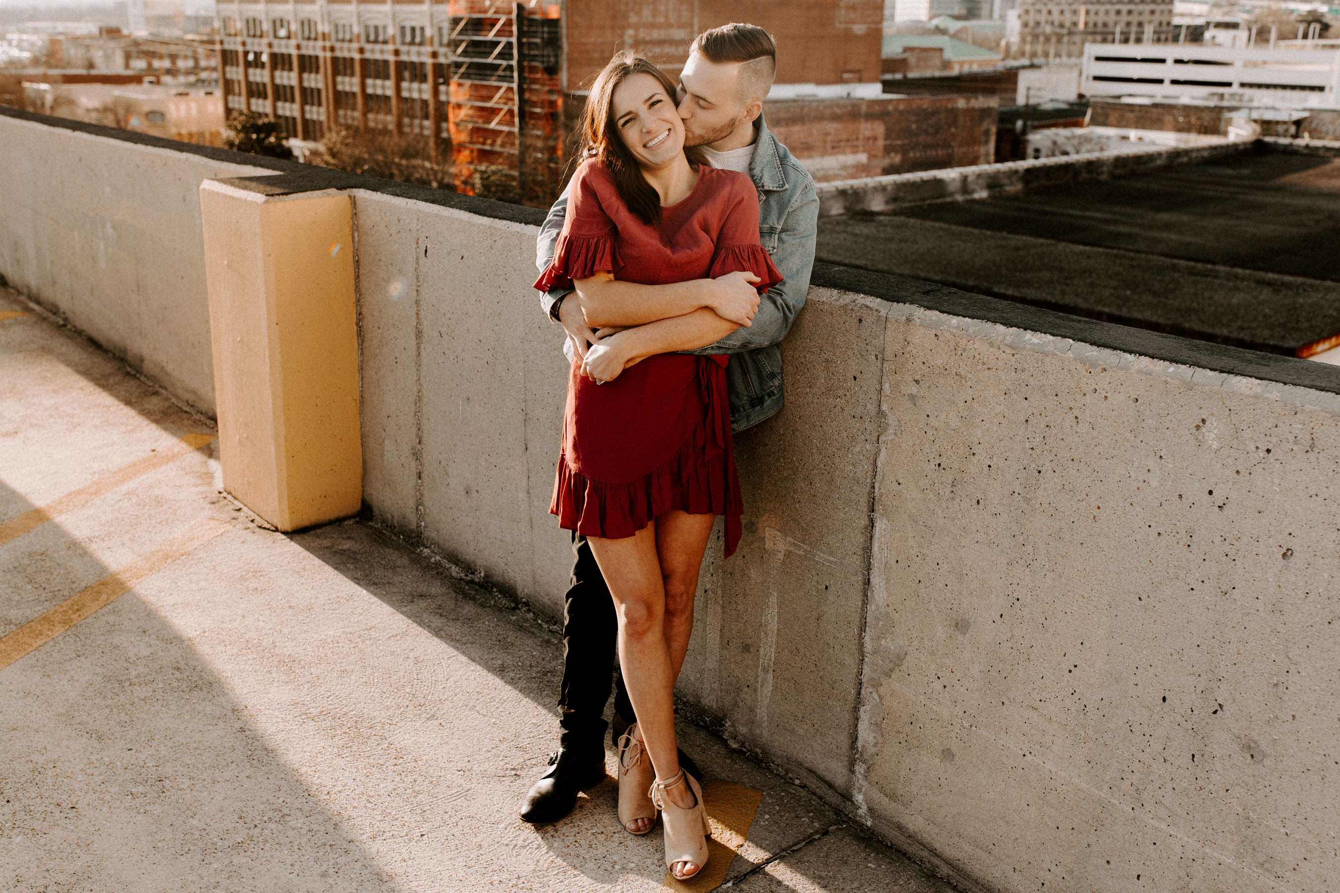 Downtown, Alabama, Birmingham, Engagement, Josh Rexford, Photographer